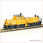 LGB 20670 - LGB track cleaning locomotive, digital, used, With box