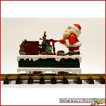LGB 21010 Christmas Santa Handcar G Scale - New