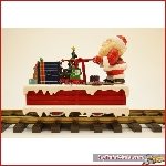 LGB 21010 - Christmas handcar, Massoth M decoder, in good conditon, original box