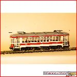 LGB 21382. New York streetcar, used, with box, digital