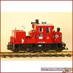 LGB 22330-1 - Fire brigade Diesel Locomotive - used, with box