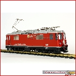 "LGB 22430 RhB Ge 4/4 II ""Klosters"" 615, in good condition, digital decoder, OVP"
