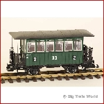 LGB 3040-3-used - DR Passengercar 2th class, collectors item