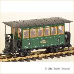 LGB 3040 - Pers.wagen Landesbahn Mixnitz - St. Erhard, light, 3nd class, used