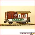 LGB 3042 - Zillertal beer car (Falwagen) - used, in good condition
