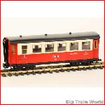 LGB 3064 - Eilzugwagen, Rhb, with box, in good condition