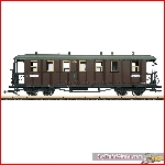 LGB 31353 - Saxon State Railroad Passenger Car, 3rd Class; I - New 2019