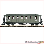 LGB 31354 - Saxon State Railroad Passenger Car, 4th Class ; I - New 2019