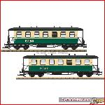 LGB 35359 Passenger Car Set, Rü.BB, Ep. VI | Big Train World