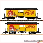 LGB 36847 - Coca Cola® Baggage Car; III - New 2020