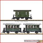 LGB 39079 Passenger Car Set DR, Ep. III | Big Train World