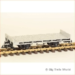 LGB 4001 - Flat wagon, gray, type 3, in very good condition, with box