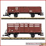 LGB 40031 Gondola car set DR | Big Train World
