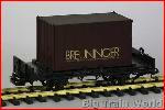 LGB 4003BR Breuniger container car | Big Train World