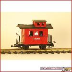 LGB 40200 - Caboose Fire Brigade - used, with box