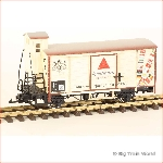 LGB 40267-used - Apollinaris boxcar with metal wheels