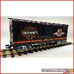 LGB 4067HD - 90 Anniversary Harley-Davidson US Boxcar, used, with box