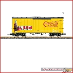 LGB 40672 - Coca-Cola® Boxcar - New 2019