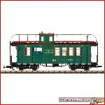 LGB 40756  WP&YR Drovers Caboose | Big Train World