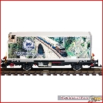 LGB 41891 / Massoth 8000291 - RhB Lb 7872 Containercar 40 years Massoth Limited