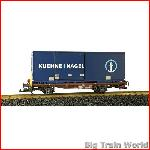 LGB 40893 - Speditions Containerwagen, used, no box