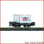 LGB 43030 - Scholler Eis   Containerwagen - Special offer