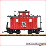 LGB 45651 LG&BR Caboose | Big Train World