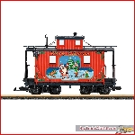 LGB 45652 - Christmas Caboose  - New 2019