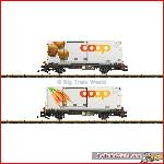 LGB 45898 RhB Car Set with Containers | Big Train World