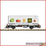 LGB 46891 - Containerwagen McDonalds RhB, used, no box