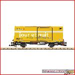 LGB 47894 - Post Containertragwagen RhB - New 2016