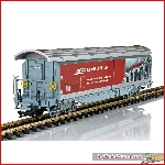 LGB 48573 - RhB Type Hai-tvz Sliding Wall Boxcar; VI - New 2020