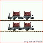 LGB 49140 Set Flat Cars for Containers | Big Train World
