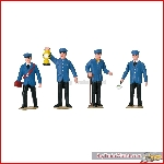 LGB 53001 - Set of Figures for Railroad Workers in Germany - New 2019