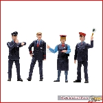 LGB 53002 - Set of Figures for Railroad Workers in Switzerland - New 2019