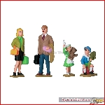 LGB 53004 - Set of Figures for a Family - New 2019