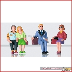 LGB 53006 - Set of Seated Passenger Figures; ---------- - New 2020