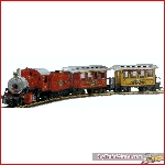 LGB 70325 - Christmas train 2004, no box, in good condition, dcc interface