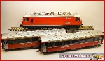 LGB 70642 -  RhB Electric Locomotive Passenger set with Massoth decoder - OCC