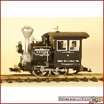 LGB 92770 - Rusty Steamlocomotive L.G.&B - used, with box