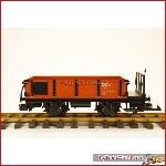 LGB 94005 - DEV Niederbordwagen - used, good condition, with box