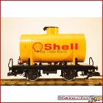 LGB  94280 - Toy train Shell Tank car with  - Used, in good condition, with box