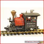 MAGNUS LGB 92770 - RUSTY steam loco - weathered