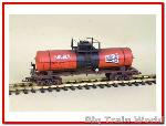 Magnus /  USA Trains 15120 - 10000 Gallon Tank Car Hooher verouderd en gesuperd