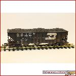 Magnus /  USA Trains 14018 - 70 Ton 3 Bay Coal Hopper BN, verouderd