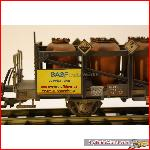 Magnus 4055 - Acid car RHB gray - Weathered