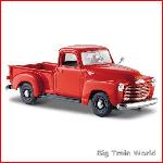 Maisto 31952R - Chevrolet Pickup 3100 1950 Red  1:25