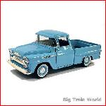 Motormax 73200B - Chevrolet Apache Fleetside Pickup Blue 1:24