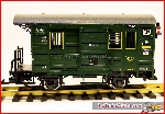 LGB 32190 - Mail Car, with tail marker lights, used, good cond. w. original box