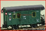 LGB 3019N-used - LGB 3019N - G Scale Green Box Car - Used, no box